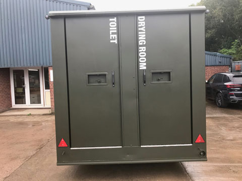 Used mobile welfare unit for sale