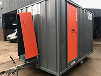 Used static welfare unit for sale