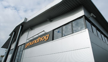 the groundhog building